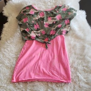Justice Girls Top Size 10